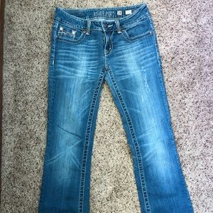 Miss Me Distressed Boot Cut Size 28